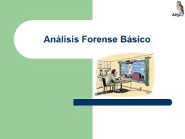 Análisis Forense Básico - Área de Seguridad y Comunicaciones