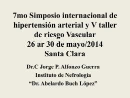 C527_2 - 7mo Simposio Internacional de Hipertensión Arterial y 5to