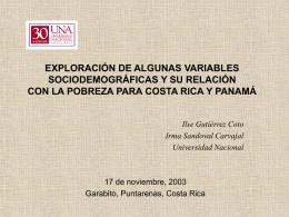 EXPLORACIÓN DE ALGUNAS VARIABLES