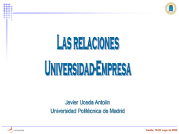 Investigación Algunas ideas - Encuentro Internacional de Rectores