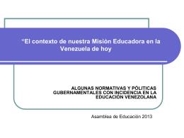 Contexto de la Educación Básica