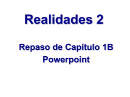 Realidades 2