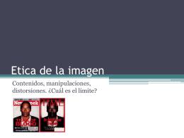 etica de la imagen - cruceshernandezguerra