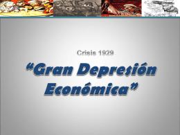 ppt clases La Gran Crisis