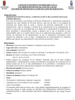 Memoria módulo VIII - Universidad de León