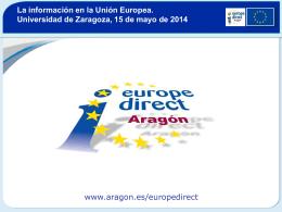 Slide 1 - Gobierno de Aragón