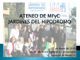 Ateneo Jardines 2010 Gripe - Dpto. de Medicina Familiar y