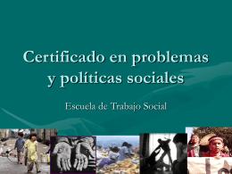 Certificado Trabajo Social