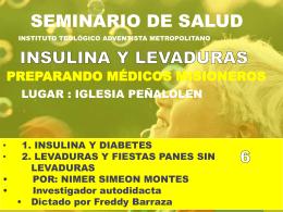 06 Diabetes y Levaduras