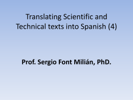 clase 17. translating scientifical & technical texts into english, 4.