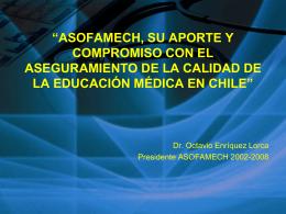 Descargar Presentación - Asociación Chilena de Facultades de
