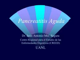 Pancreatitis Aguda Manejo Médico