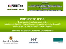 proyecto icof. estudio para la deteción y valoración