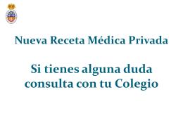 Diapositiva 1 - Colegio Oficial de Médicos Lugo