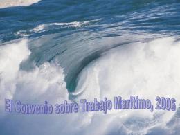 Convenio sobre el Trabajo Marítimo: notas