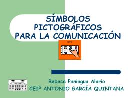 símbolos pictográficos para la comunicación