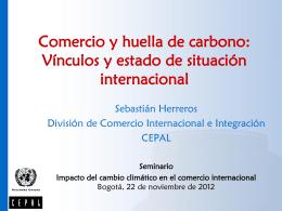 La huella de carbono y el proceso de negociación