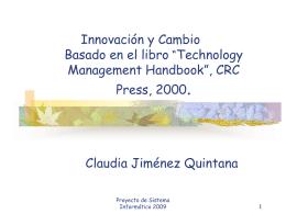 Tema 4 Innovacion y Cambio