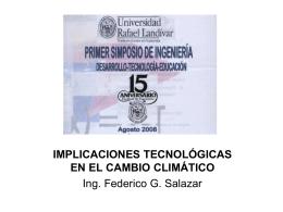 impactos socioambientales del cambio climático