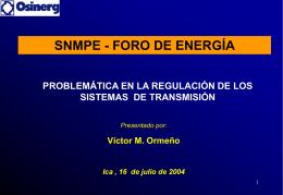 El Sistema de Transmisión Económicamente Adaptado (STEA)