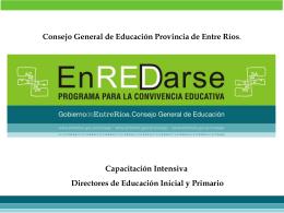 Educación - Gobierno de la Provincia de Entre Ríos