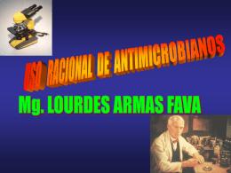 Dra. Lourdes Adelaida Armas Fava
