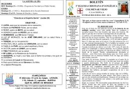 15 Diciembre 2013 - Iglesia Cristiana Evangélica de Colmenar Viejo