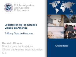 Legislación de los Estados Unidos de América, Tráfico y Trata de