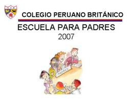 Desarrollo - Colegio Peruano Británico
