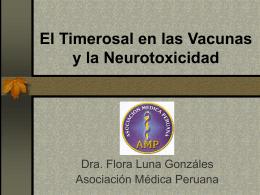 El Timerosal en las Vacunas y la Neurotoxicidad