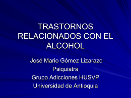 Abstinencia de alcohol