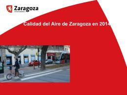 calidad del aire en zgz 2014