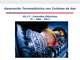 Turbinas_de_gas - Universidad de Buenos Aires