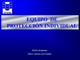 Equipo Protección - Segurança e Trabalho