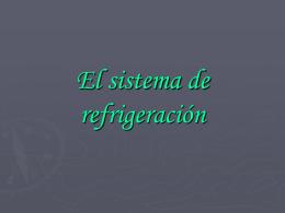 Sistema de refrigeración.