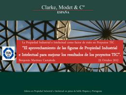 Introducción a la Propiedad Industrial e Intelectual