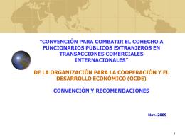 presentación - Ministerio de Relaciones Exteriores de Chile