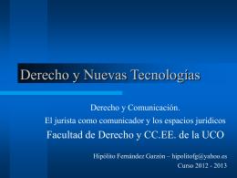 Presentación - seminario de filosofia del derecho