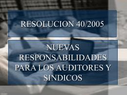 ResumenResolución 40-05 CPCECABA