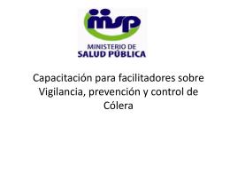 Capacitacion Colera - Colegio Médico Dominicano