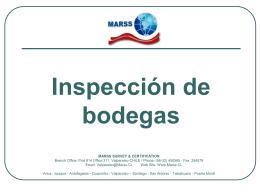guia para inspección de bodegas naves graneleras