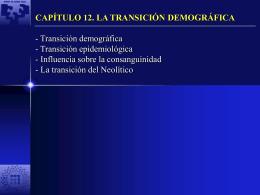 capítulo 12. la transición demográfica