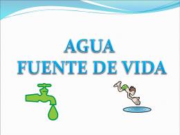Presentación agua para 4to (4326912)