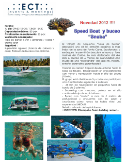 Speed boat & Snuba diving