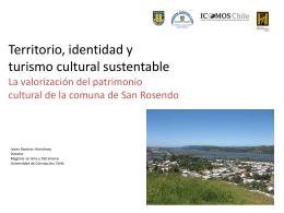 Territorio, identidad y Turismo Cultural Sustentable