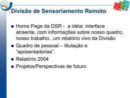 DSR - OBT