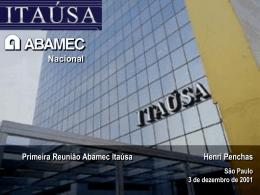 Apresentação Abamec Itaúsa
