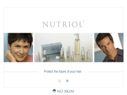 Nutriol - Nu Skin Force for Good Foundation
