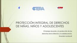 Los derechos de los niños implican obligaciones de los