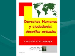 """Derechos Humanos de los """"niños y adolescentes intervenidos por el"""